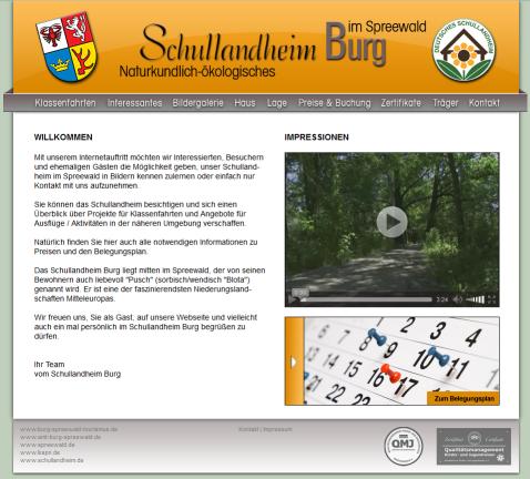 Schullandheim Burg